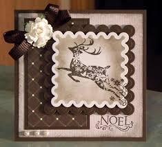 handmade christmas card using inkadinkado ornate whimsyart