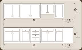 kitchen cabinet diagram great measuring kitchen cabinets cabinet measure diagram 23776 home