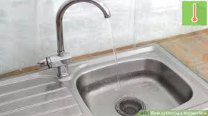 Kitchen Sink Clog 3 Ways To Unclog A Kitchen Sink Wikihow