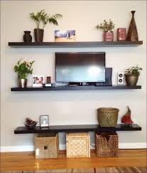 Floating White Shelves by Living Room 10 Foot Floating Shelf 2 Floating Shelves Black And