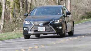 lexus sedan reviews 2017 2016 lexus es300h mid size sedan review autonation youtube