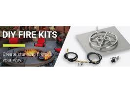 Fire Pit Burner Kits by American Fireglass Diy Fire Pit Burner Kits