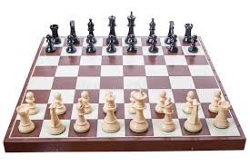 how to set up chess table chess board set up to begin a game stock photo image of