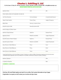 Landlord Home Inspection Checklist apartment rental application template thebridgesummit co