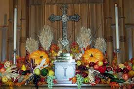 harvest thanksgiving in thanksgiving sed angli