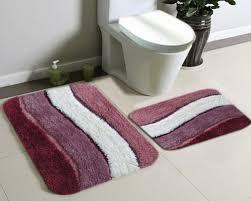 Burgundy Bathroom Rugs Pleasant Burgundy Bathroom Rugs Impressive Decoration Royale