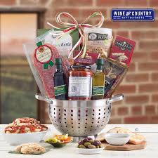wine country basket classic italian gift basket