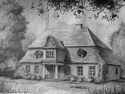 drawing home 10 beautiful house pencil drawings for inspiration hative