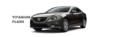 Mazda 6 White Interior Color Options Available On The 2016 Mazda 6