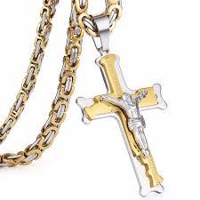 cross jesus necklace images Cross christ jesus pendant necklace live deals jpg