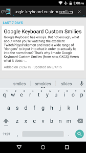 add emoji to android keyboard add custom unicode smilies to your android s keyboard