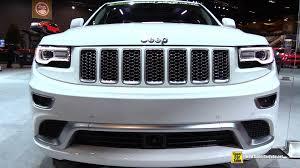 grey jeep grand cherokee interior 2015 jeep grand cherokee summit exterior and interior walkaround