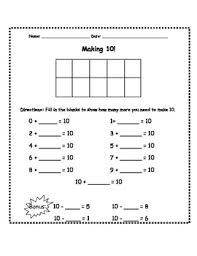 making 10 worksheet free worksheets library download and print