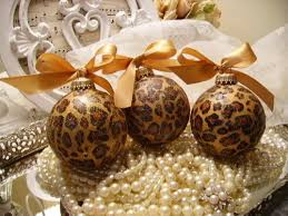 leopard print ornaments pictures photos and images for