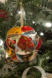 148 best christmas paper ornaments images on pinterest