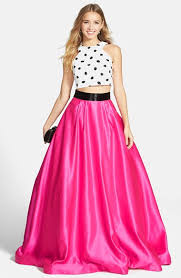 sherri hill two piece ball gown available at nordstrom women u0027s