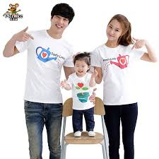 family set cultivate summer sleeve t shirt matching