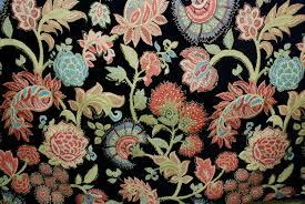 Kaffe Fassett Home Decor Fabric Bright Floral Upholstery Fabric Upholstery Fabric By The Yard