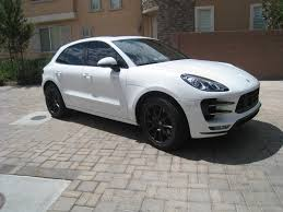 porsche macan turbo white bumperplugs painted sidemarkers porsche macan forum