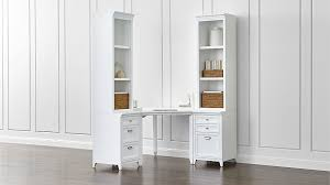 Small L Shaped Desk With Hutch Interior Design White Corner Desk With Hutch White Wood Desk