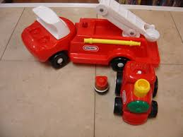 Little Tykes Toy Box Little Tikes Pretend Play Fire Truck And Train W One Figure