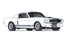 logo ford mustang shelby 1966 ford mustang shelby gt350r drawing by vertualissimo on deviantart