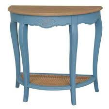 Blue Console Table Blue Console Tables Accent Tables The Home Depot