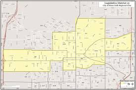Sioux Falls Map District 15 Map District Maps Minnehaha Gop
