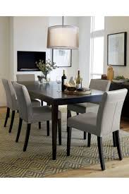 dining tables crate and barrel basque table barrel dining room