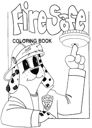 free fire prevention coloring books coloring book