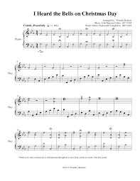 i heard the bells on day by timothy rohwer satb