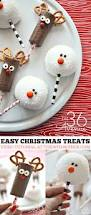 christmas treats reindeer and snowman christmas desserts and