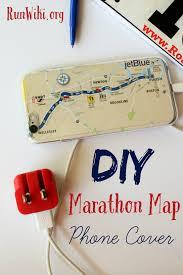 Boston Marathon Route Google Maps by Easy Diy Marathon Map Phone Cover
