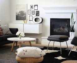 Black And White Living Room Decor Outstanding Black And Grey Living Room Ideas Black Pattern Accent