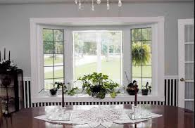 for bay window window treatment ideas hgtv small living room with