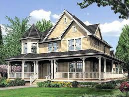 house wrap around porch house plan wrap around porch pleasant idea country cottage house