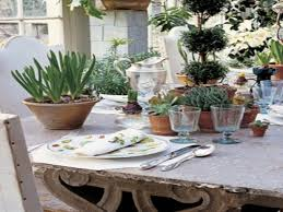 french country centerpieces spring summer table setting ideas