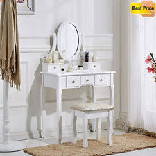 Vintage Style Vanity Table Antique Style Dressing Tables With Stool Ebay