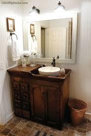 Small Bathroom Vanities And Sinks by Best 25 Vessel Sink Vanity Ideas On Pinterest Small Vessel