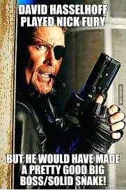 David Hasselhoff Meme - david hasselhoff played nick fury buthe would havemade a pretty good