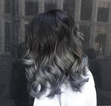 how long does hair ombre last trend alert ombre silver hair the fashion foot