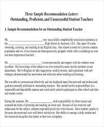 sample recommendation letter for outstanding student oshibori info