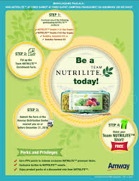get healthy and earn a trip to vietnam with team nutrilite