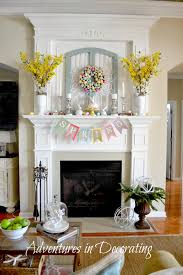 thanksgiving mantel adventures in decorating styling our spring mantel mantels for
