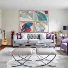tufted gray sofa photos hgtv