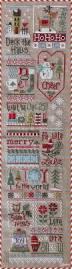 christmas cross stitch pattern coming town santa u002711 snippet