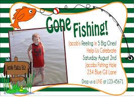 fish party invitations fishing birthday party invitations