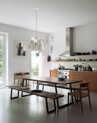 dining room tables with bench 271 best dining areas images on pinterest architecture