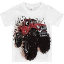 shirts boys u0027 big red monster truck shirt
