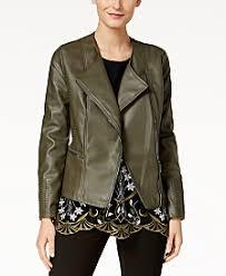 Leather Barn Coat Women Leather Jackets Shop Women Leather Jackets Macy U0027s